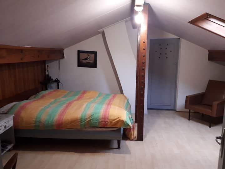 Grande chambre + sdb privée au cœur d'Anglet