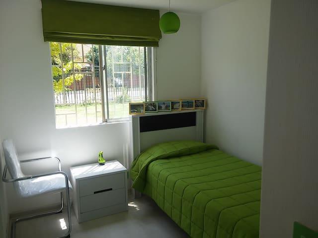 2 dormitorios individuales