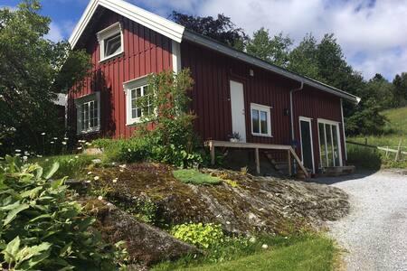 Uthuset, ny egen leilighet med flott utsikt