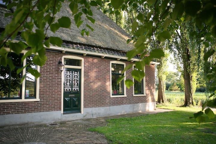 Villa Prinsenhonk at IJssellake max 14 persons - Andijk