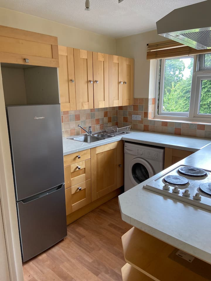 Lovely flat close to city Center and train station