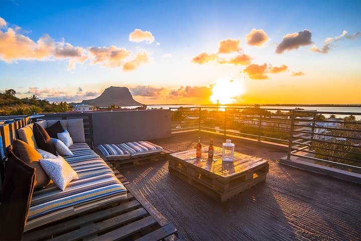 Stunning Seaview Villa - la gaulette - Casa de camp