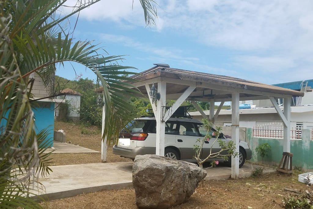 Apartment counts with Gazebo for parking or other activities