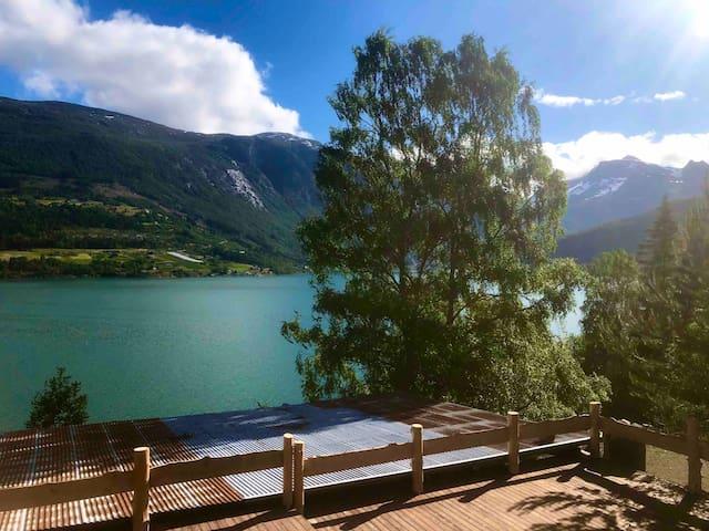 Olden by the fjords of Norway, Bjørkelund