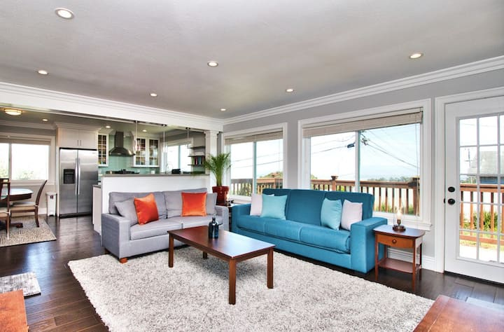 Luxe Remodel ☀️ Bay View ☀️ SF 20min ☀️ 5★Host ☀️ Deck
