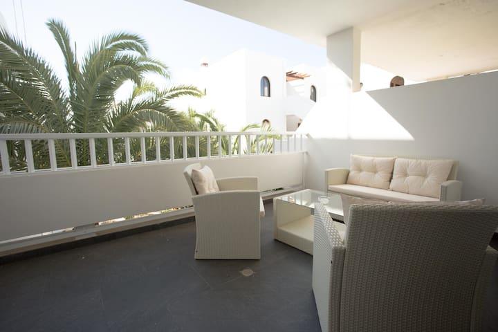 10 m2 terrace