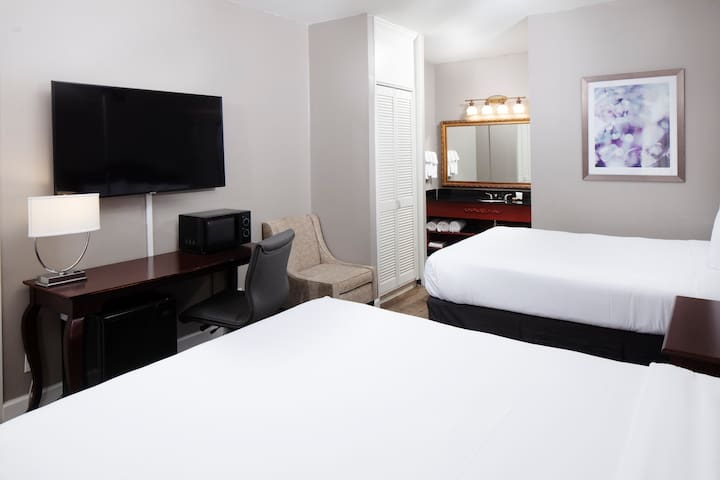 Two Queens Bedded Standard Room