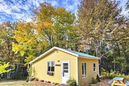 Cozy Amherst Cottage on 50-Acre Farm w/ Fire Pit!