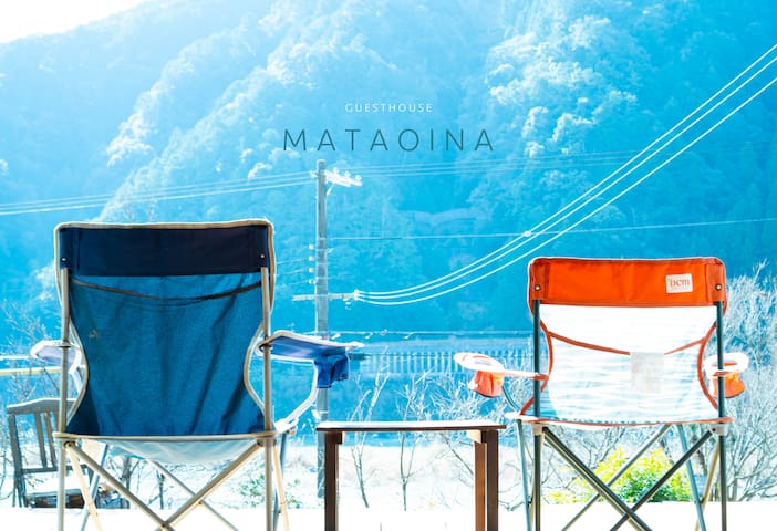 「 Mataoina」Room rental 1〜4people  部屋貸し〜4人