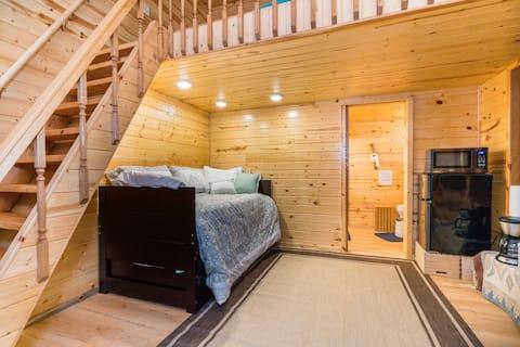 The Hermitage: beautiful, quiet, woodsy getaway.