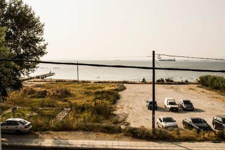 Sunny apartment with sea view! - Kalamaria