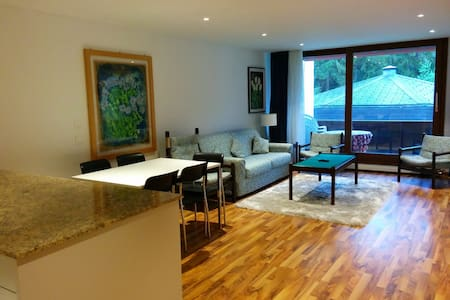 Modern Apartment 4 places - Laax