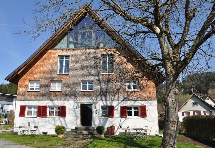 Gemütliche Fewo in altem, renovierten Rheintalhaus