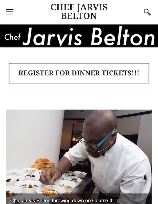 http://www.chefjarvisbelton.com/ Chef is available upon request so book yours ahead of time to get deals and availability!