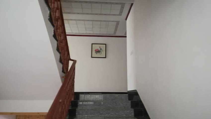 宽敞的楼梯