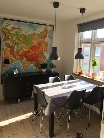 Cozy Apartment w. Great Location :) - Odense - Leilighet