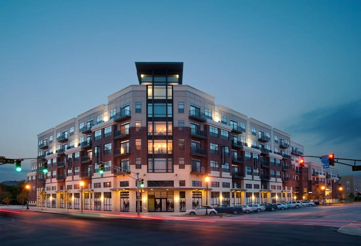 Luxury apartment on canal downtown - Indianapolis - Flat