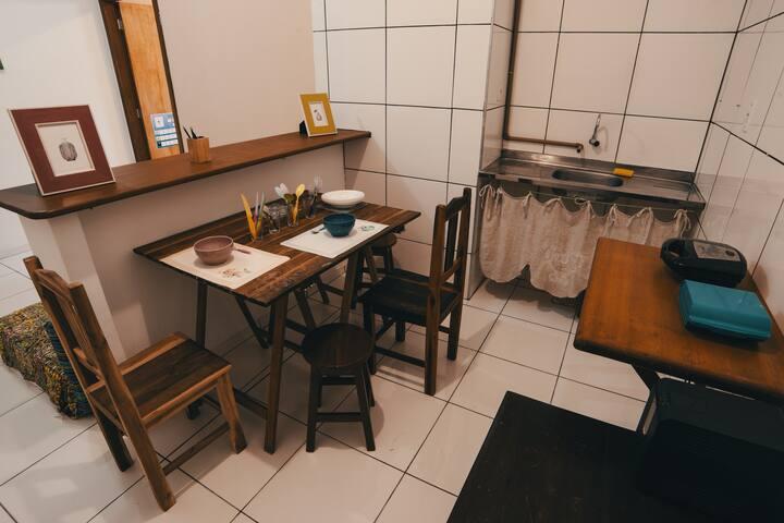Apartamento Pêssego no Centro de Jericoacoara