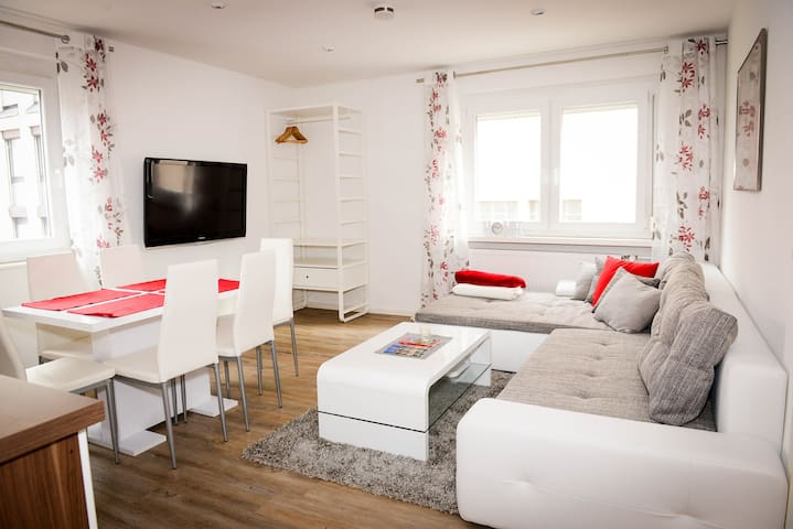 Very central quiet flat in the heart of Nuremberg