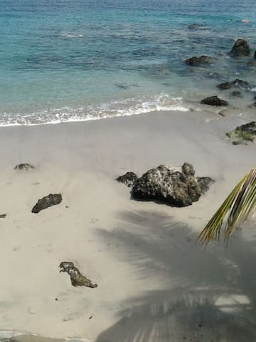 Grand studio  avec piscine en face de la plage ... - Les Trois-Îlets