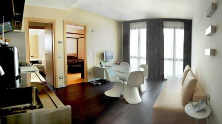Appartamento per 2 persone alle porte di Padova