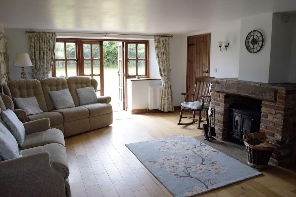 2 Ivy Cottages Billingham - living room