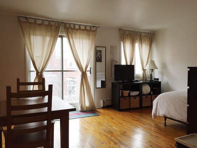 Cute bachelorette on Plateau MTL - Montréal - Apartment