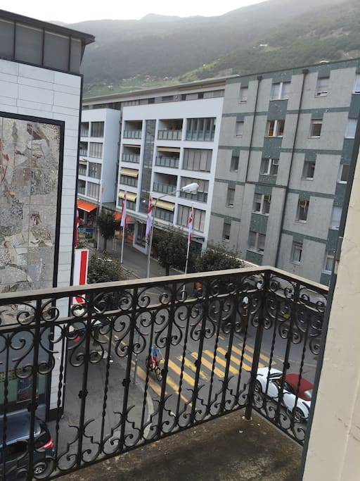 Balcon de la chambre