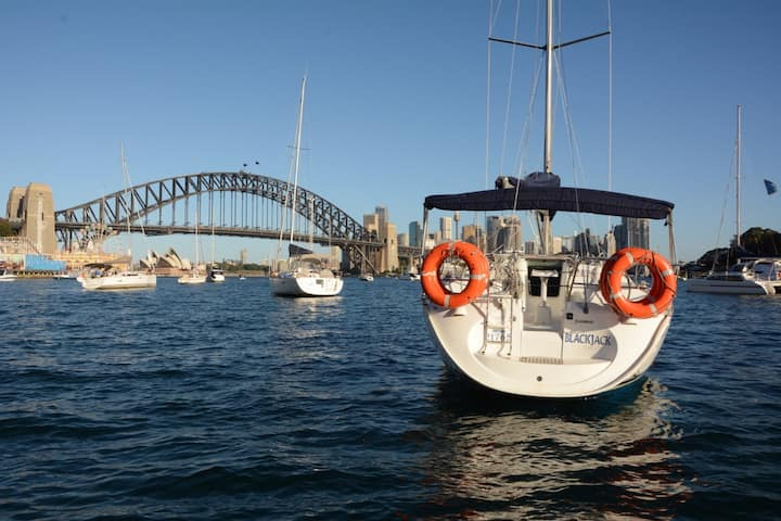 Sleep aboard a yacht with the best view in Sydney