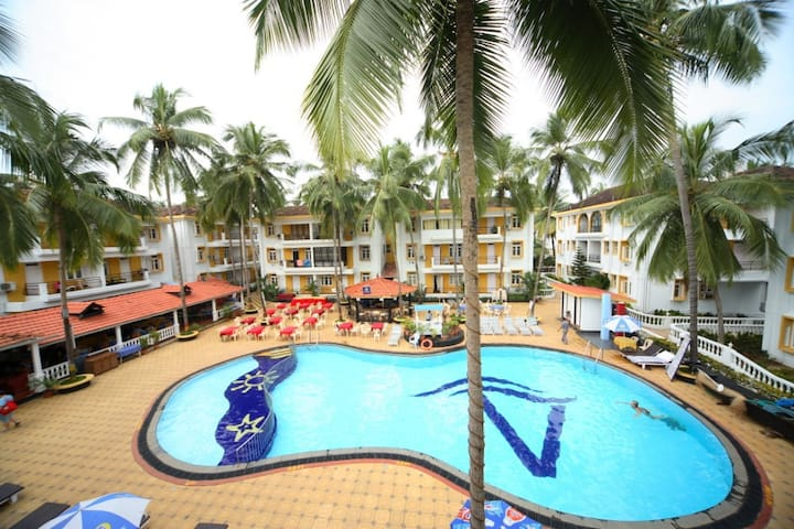 Candolim Paradise Studio Apartment - Homestay