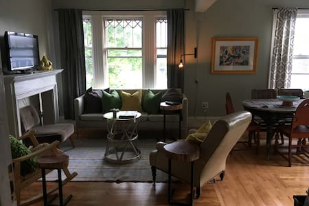 Beautiful treetop apt in the heart of Dock Square - Kennebunkport - Wohnung