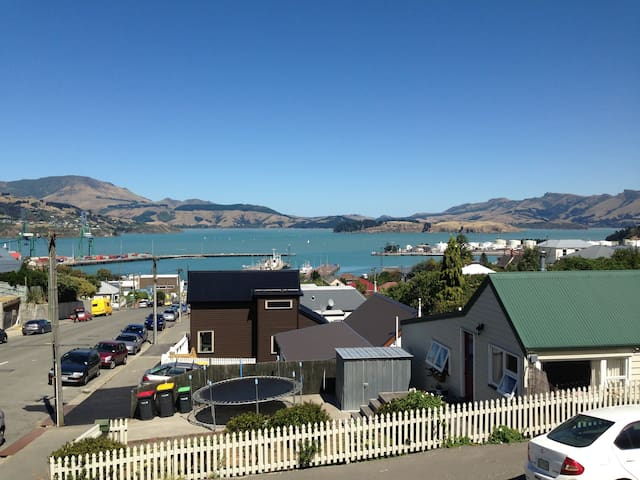 Loft in lovely new Lyttelton Home - Lyttelton - Dom