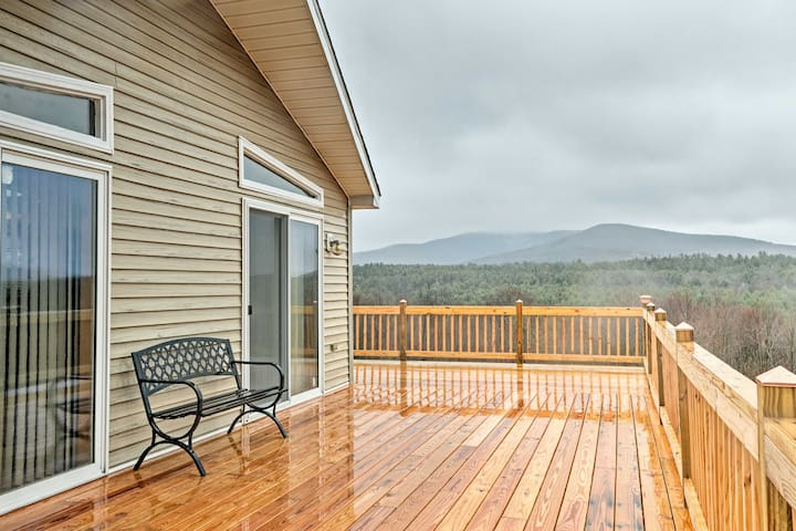 NEW! 3BR Prattsville House w/Catskill Mtn Views!