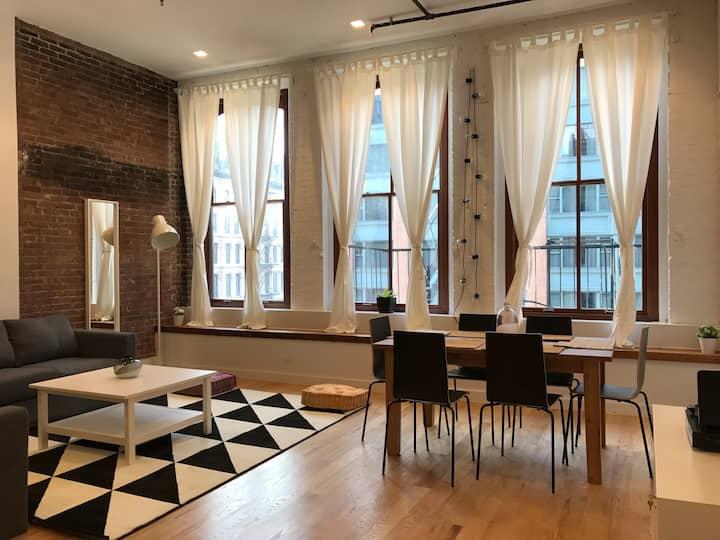 CRNY : X-Large Exclusive Tribeca Loft Full Floor