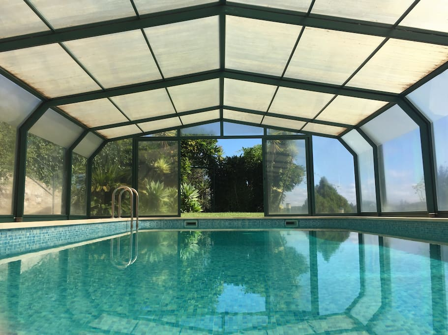 Covered pool (good for all seasons of the year)