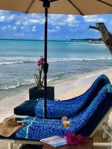 Seaside home on the Platium West coast of Barbados
