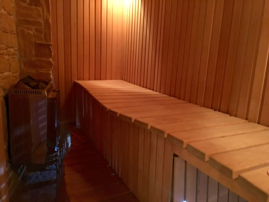 Saunas are built to provide highest quality experience