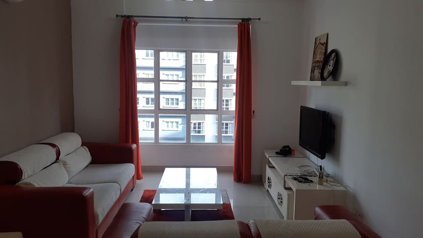 Small room pool view near to LRT station & malls