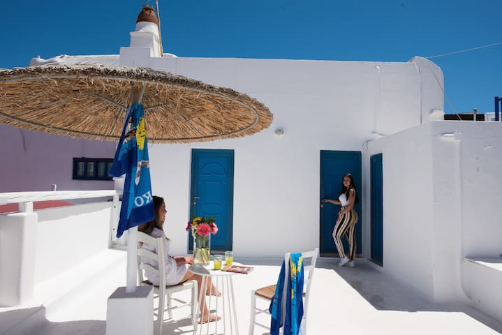 Family two bedroom in the heart of Mykonos