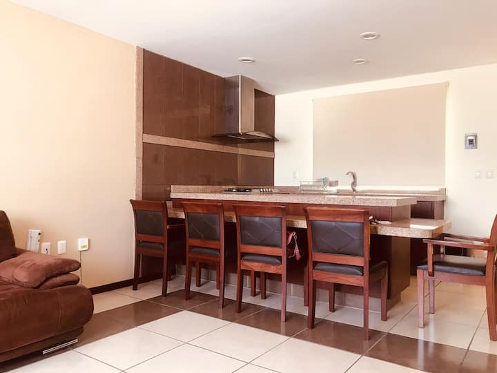 Íntimo apartamento en tradicional zona residencial