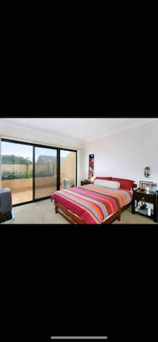 Fully furnished room with big balcony