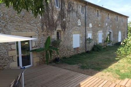 Maison au sud de l'entre deux mers - Loupiac-de-la-Réole