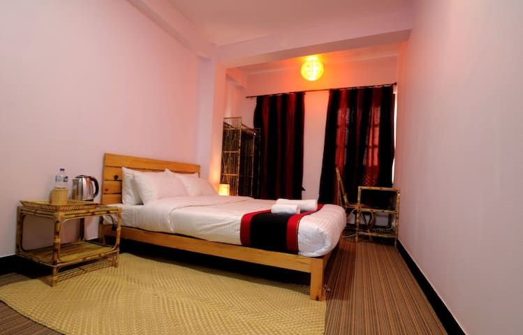 Room Near Patan Durbar Square in Traditional Home