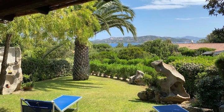 Villa con vista sull'arcipelago della Maddalena