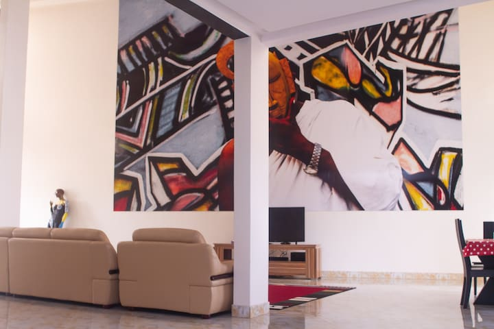 Spacious Loft in the heart of Dakar