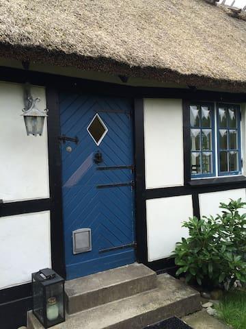 Romantisk sommersted med skøn have - Dronningmølle - Huis