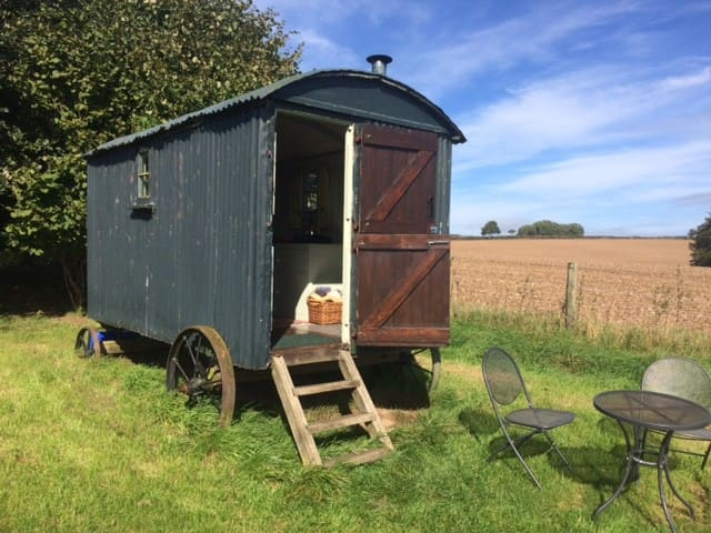 Shepherd's Hut in a beautiful spot in Dorset - Milton Abbas - Chata