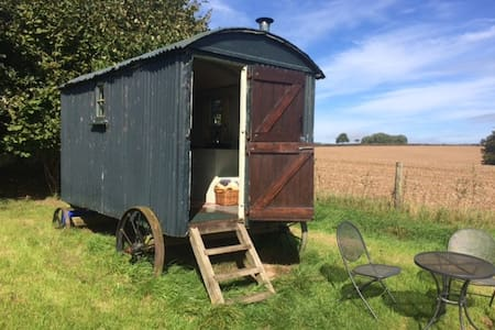 Shepherd's Hut in a beautiful spot in Dorset - Milton Abbas