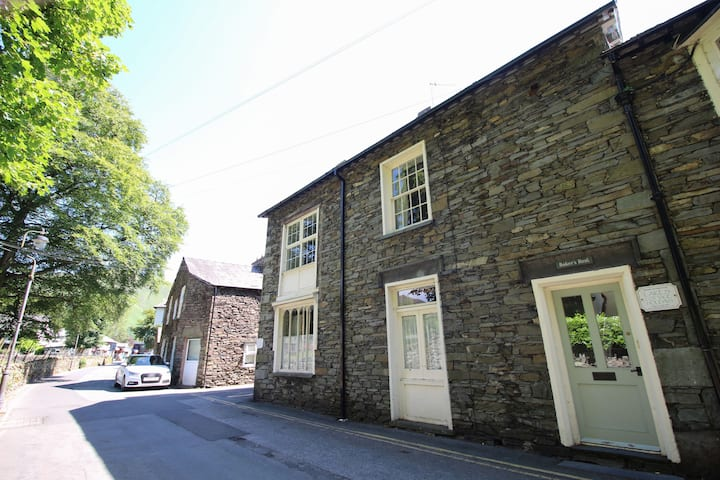Bakers Rest, Grasmere spacious accommodation for 2 families or group, centrally located.