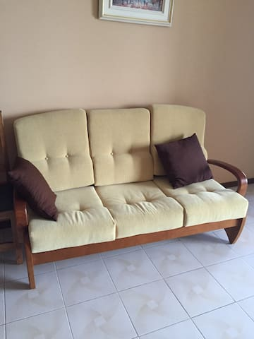 3 seater couch and 2 single chairs